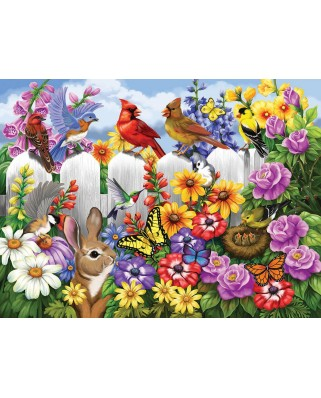Puzzle SunsOut - Garden Gossip, 300 piese (Sunsout-62952)