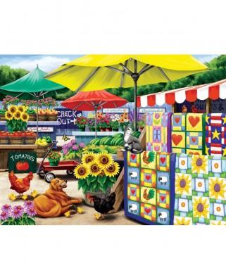 Puzzle SunsOut - Farm Stand, 300 piese (Sunsout-63007)