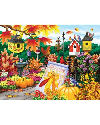Puzzle SunsOut - Welcome Autumn, 300 piese (Sunsout-63021)