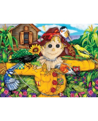 Puzzle SunsOut - Scarecrow and Blackbird, 500 piese (Sunsout-63079)