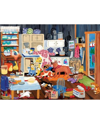 Puzzle SunsOut - Grandma's Kitchen, 500 piese (Sunsout-64601)