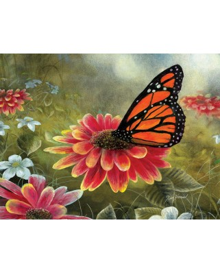 Puzzle SunsOut - Monarch Butterfly, 500 piese (Sunsout-67362)