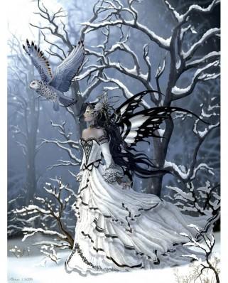 Puzzle SunsOut - Nene Thomas: Queen of Owls, 500 piese (Sunsout-67740)