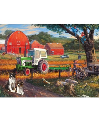 Puzzle SunsOut - The Farm, 300 piese (Sunsout-70957)