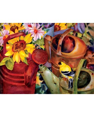 Puzzle SunsOut - Watering Can Visitor, 300 piese (Sunsout-71047)