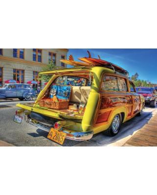 Puzzle SunsOut - Woody Wagon, 300 piese (Sunsout-72806)