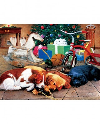 Puzzle SunsOut - Christmas Dreams, 300 piese (Sunsout-73421)