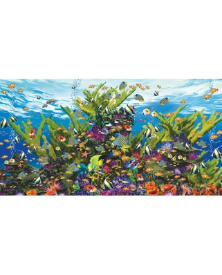 Puzzle SunsOut - Aquarium of the Sea, 500 piese (Sunsout-80141)