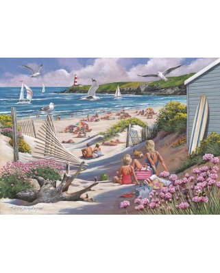 Puzzle The House of Puzzles - Driftwood Bay, 1.000 piese (The-House-of-Puzzles-4968)