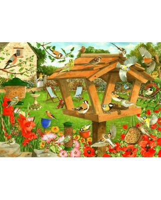 Puzzle The House of Puzzles - Strictly For The Birds, 1.000 piese (The-House-of-Puzzles-5057)