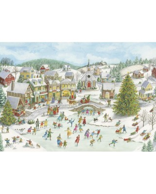 Puzzle Ravensburger - Playful Christmas Day, 1.000 piese (15290)
