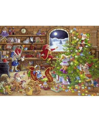 Puzzle Ravensburger - Countdown to Christmas, 1.000 piese (19882)