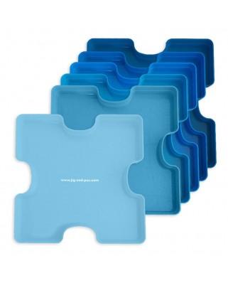 Cutii pentru sortat puzzle Jig & Puz, 6 buc