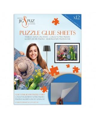 Folii pentru lipit puzzle 2000 piese Jig & Puz
