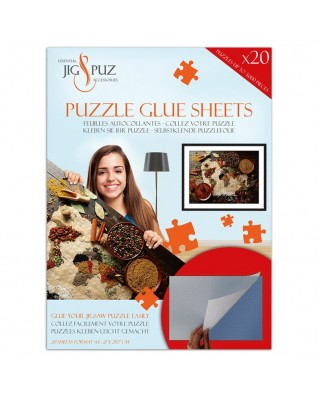 Folii pentru lipit puzzle 3000 piese Jig & Puz