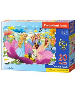 Puzzle Castorland - Thumbelina, 20 piese XXL (02382)