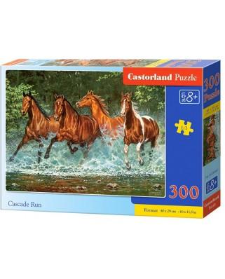 Puzzle Castorland - Cascade Run, 300 piese (030361)