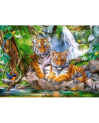 Puzzle Castorland - Tiger Falls, 300 piese (030385)