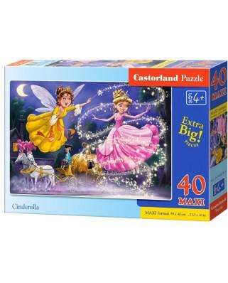 Puzzle Castorland - Cinderella, 40 piese XXL (040278)