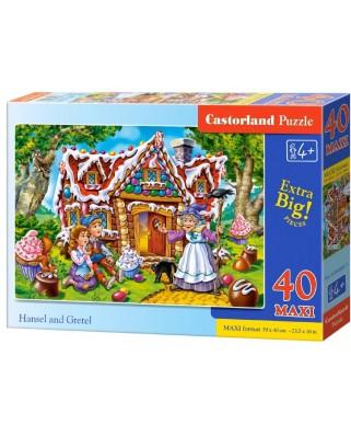Puzzle Castorland - Hansel & Gretel, 40 piese XXL (040285)