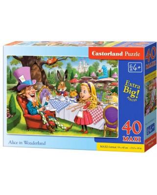 Puzzle Castorland - Alice in Wonderland, 40 piese XXL (040292)