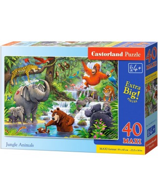 Puzzle Castorland - Jungle Animals, 40 piese (040315)