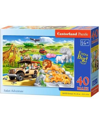 Puzzle Castorland - Safari Adventure, 40 piese (040322)
