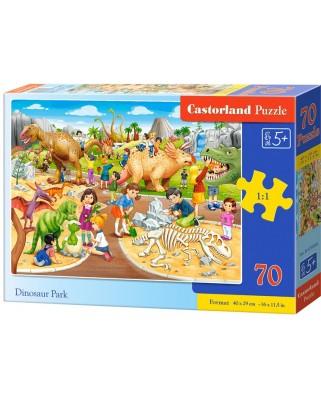 Puzzle Castorland - Dinosaur Park, 70 piese (070046)