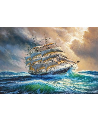 Puzzle Castorland - Sailing against all Odds, 1.000 piese (104529)