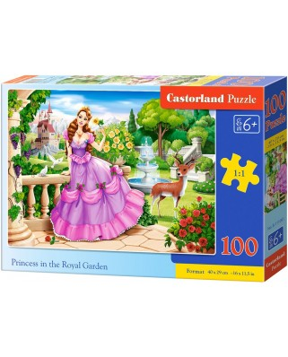 Puzzle Castorland - Princess in the Royal Garden, 100 piese (111091)