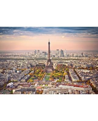 Puzzle Castorland - Cityscape of Paris, 1500 piese (151837)