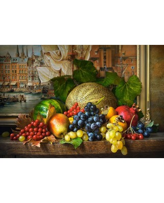 Puzzle Castorland - Still Life with Fruits, 1500 piese (151868)