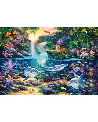 Puzzle Castorland - Jungle Paradise, 1500 piese (151875)