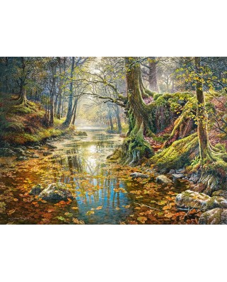 Puzzle Castorland - Reminiscence of the Autumn Forest, 2.000 piese (200757)