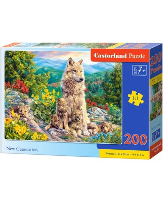 Puzzle Castorland - New Generation, 200 piese (222087)