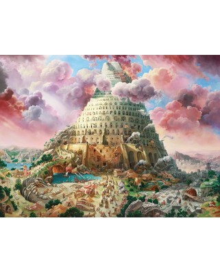 Puzzle Castorland - Tower of Babel, 3.000 piese (300563)
