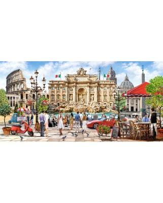 Puzzle panoramic Castorland - Splendor of Rome, 4.000 piese (400270)