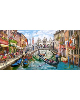 Puzzle panoramic Castorland - Charms of Venise, 4.000 piese (400287)