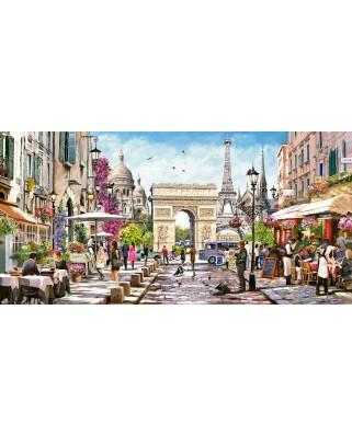 Puzzle panoramic Castorland - Essence of Paris, 4.000 piese (400294)