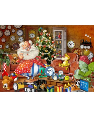 Puzzle Bluebird - Francois Ruyer: Christmas Time!, 1.000 piese (70295)