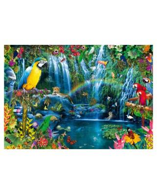 Puzzle Bluebird - Parrot Tropics, 1.000 piese (70298-P)