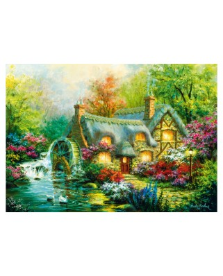Puzzle Bluebird - Country Retreat, 1.000 piese (70303-P)