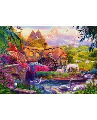 Puzzle Bluebird - Old Mill, 1.000 piese (70305-P)