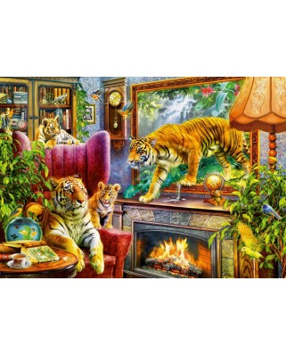 Puzzle Bluebird - Tigers Coming to Life, 1000 piese (70310-P)
