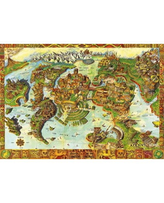 Puzzle Bluebird - Atlantis Center of the Ancient World, 1.000 piese (70317-P)