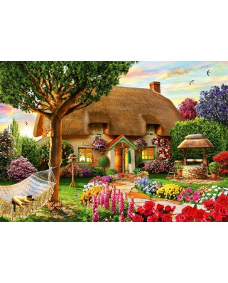 Puzzle Bluebird - Adrian Chesterman: Thatched Cottage, 1.000 piese (70319-P)