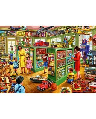 Puzzle Bluebird - Steve Crisp: Toy Shop Interiors, 1.000 piese (70324-P)
