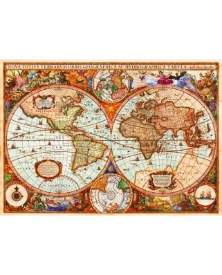 Puzzle Bluebird - Aimee Stewart: Vintage Map, 1.000 piese (70329-P)