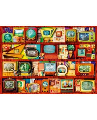 Puzzle Bluebird - Aimee Stewart: Golden Age of Television-Shelf, 1.000 piese (70330-P)