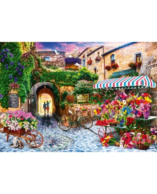 Puzzle Bluebird - The Flower Market, 1.000 piese (70334-P)